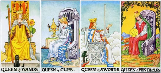 Королева кубков значение в колоде Таро