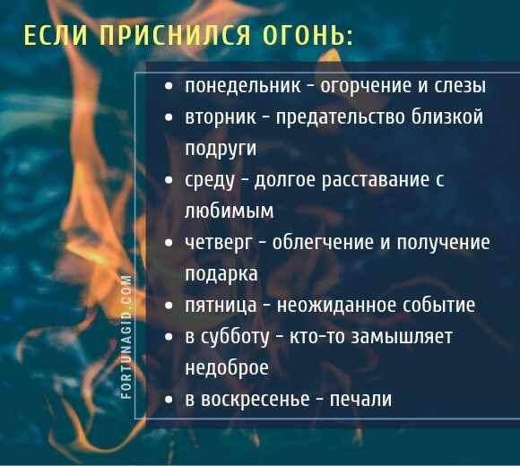 Сонник пожар во сне видеть тушить