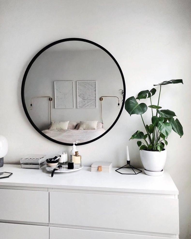 Таинственные зеркала. решение проблем интерьера с помощью зеркал