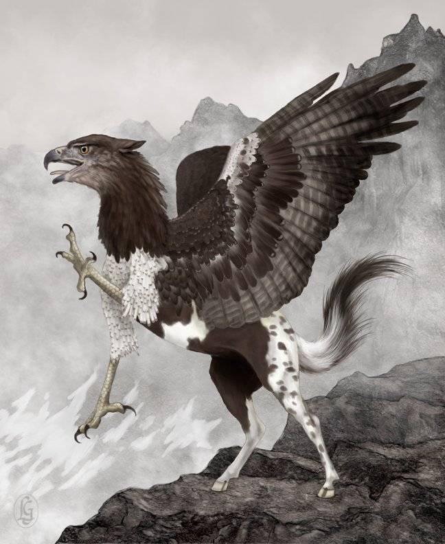 Гиппогриф — магическое существо из древних преданий