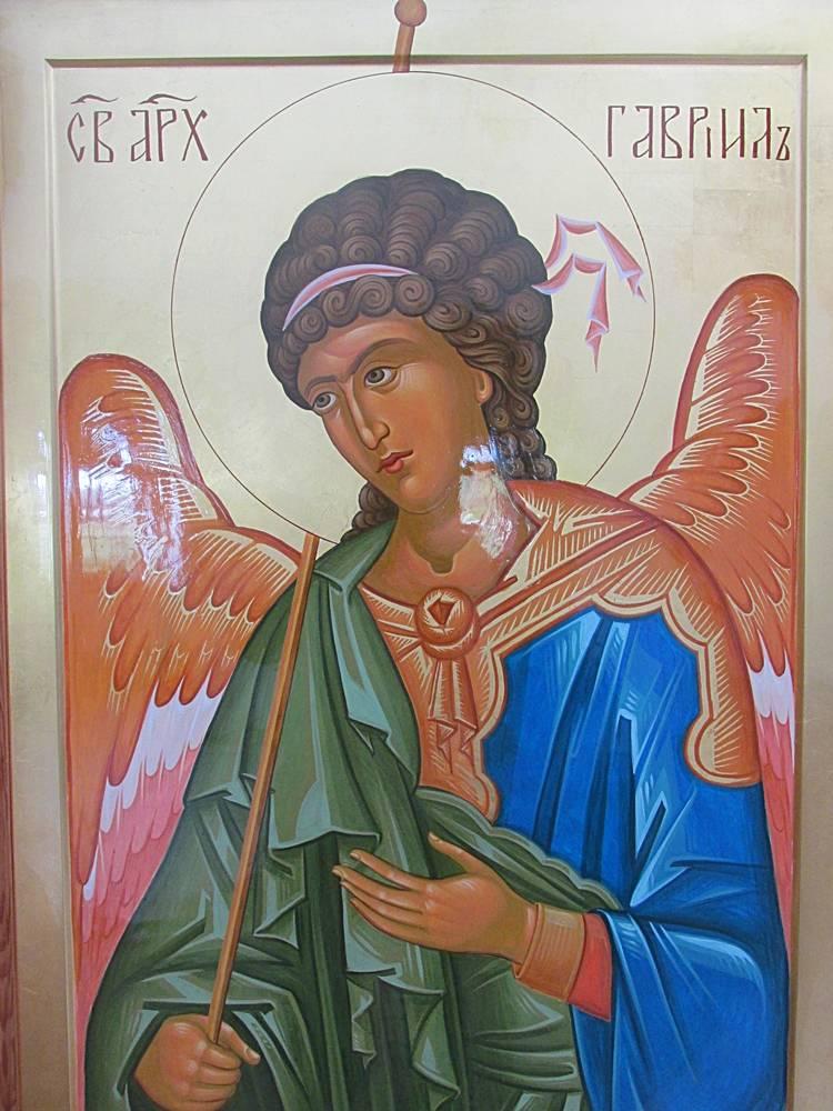Икона святого архангела гавриила