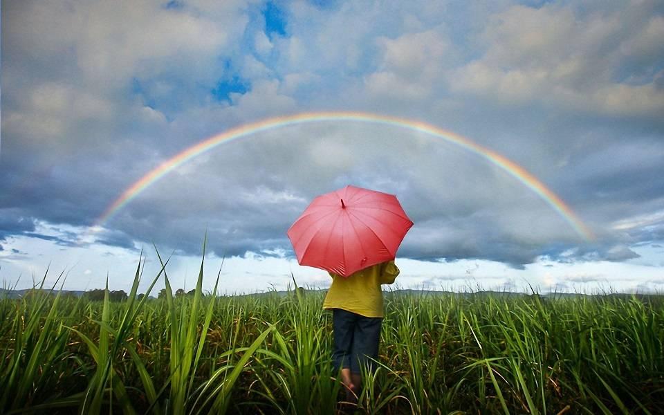 Какие заговоры читают на радугу?