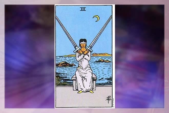 2 (двойка) мечей в таро уэйта: значение и сочетание карты