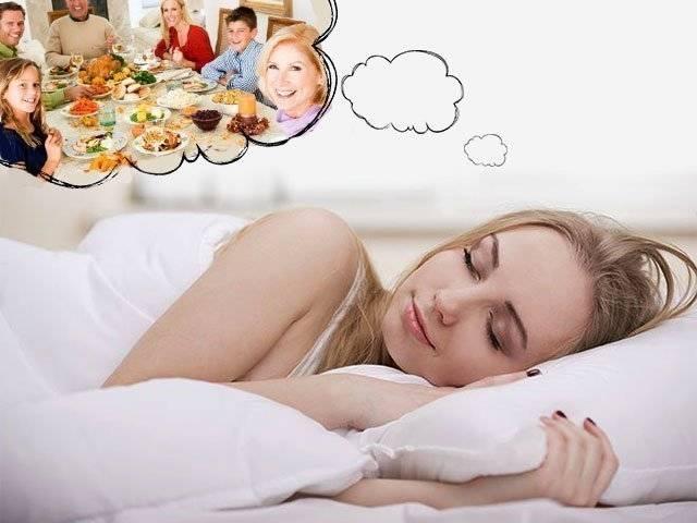 К чему снится застолье ?