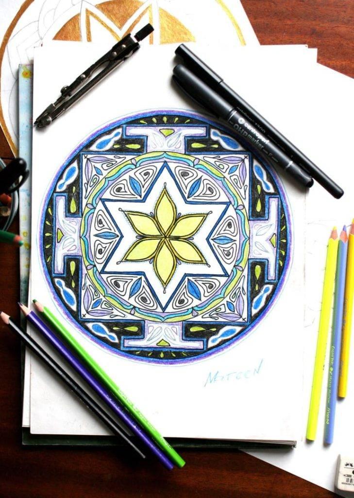 Мандала для исполнения желания очень сильная: как нарисовать