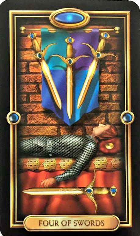 7 мечей: значение и толкование карты таро