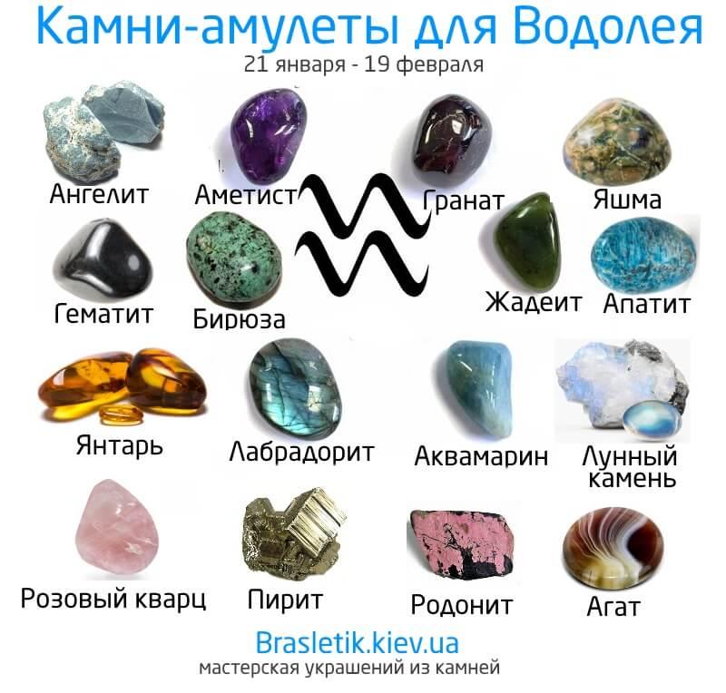 Какие камни сочетаются и не сочетаются между собой