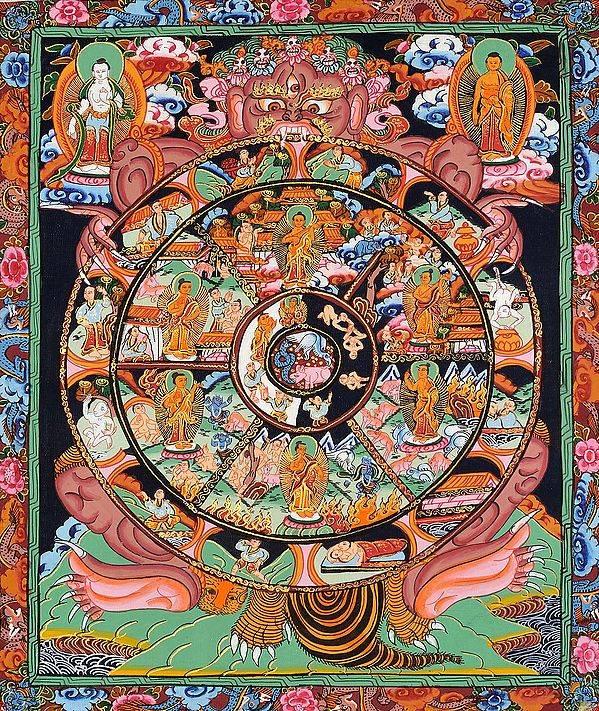 Сансара: это — 5 законов колеса сансары