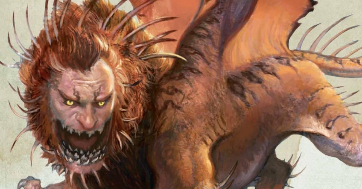 Мантикора описание. мантикора — легендарное и непобедимое чудовище-людоед