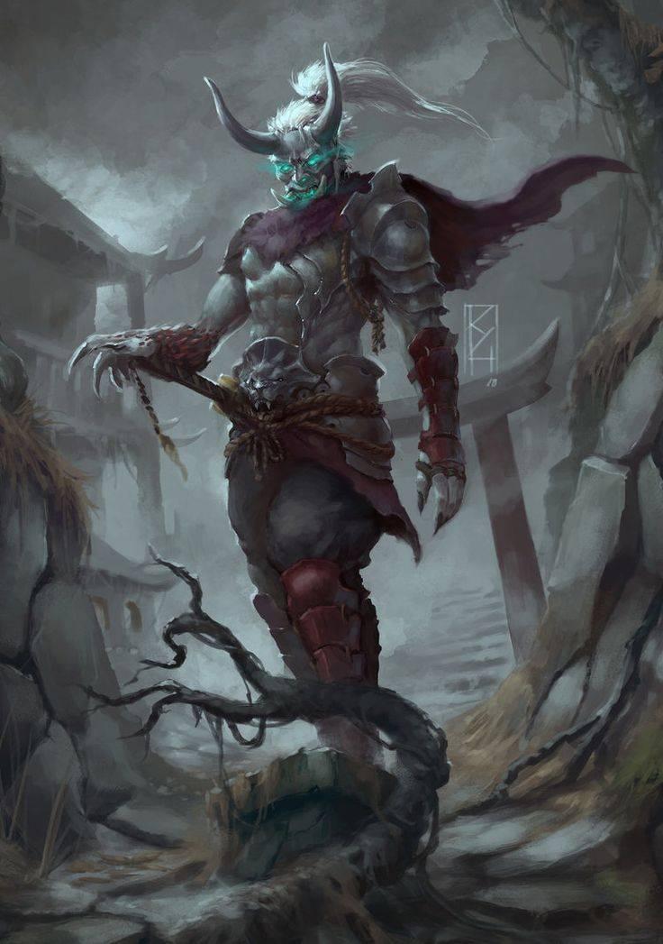 Демонология — виды демонов из различных источников