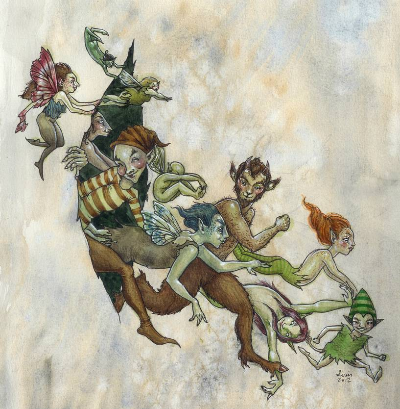 Фейри - фантастический народ из кельтских легенд