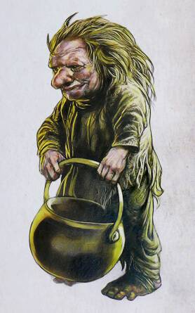 Шубин - дух, живущий в шахтах донбасса