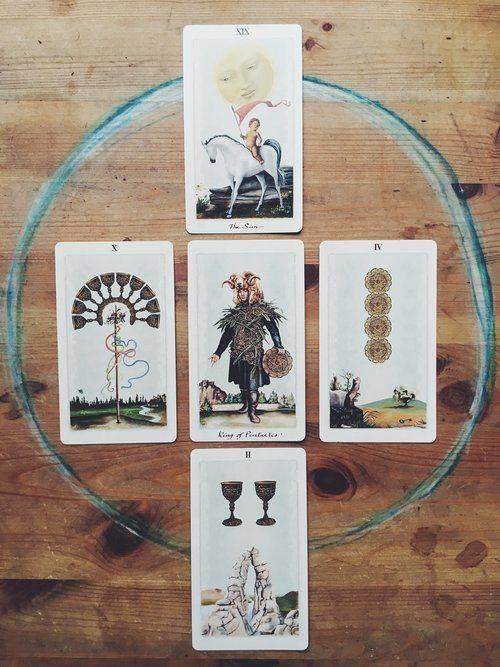 Значение карт языческого таро (белой ичерной магии)