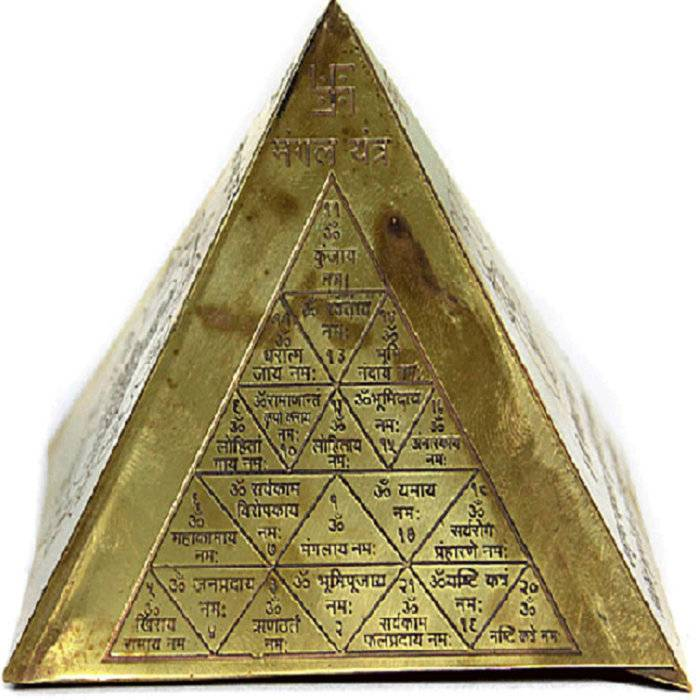 Пирамида по фен-шуй - сакральное значение, где поставить в доме