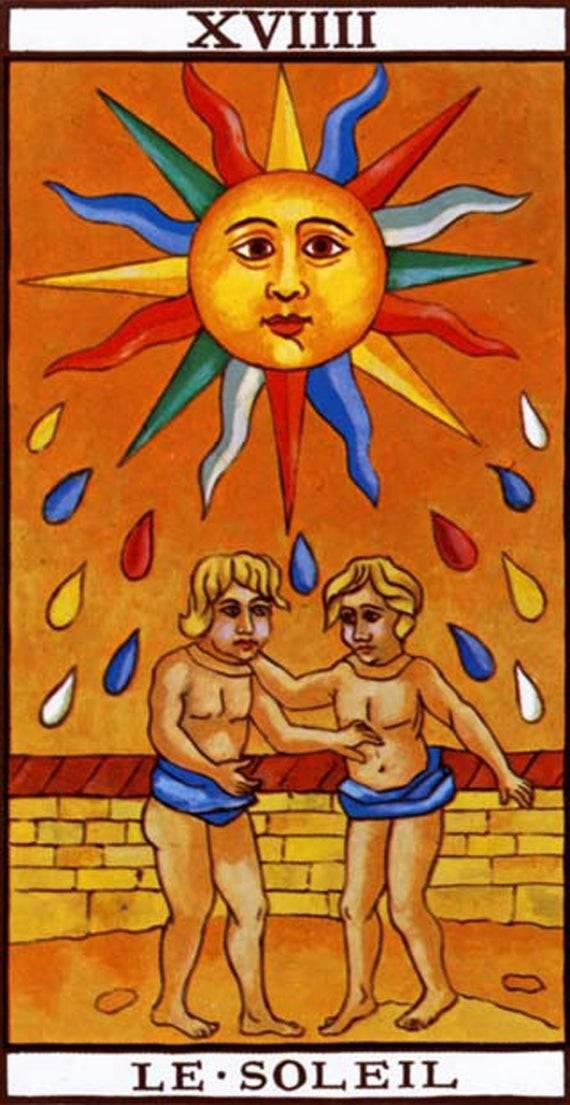 Аркан солнце: значение в раскладах таро