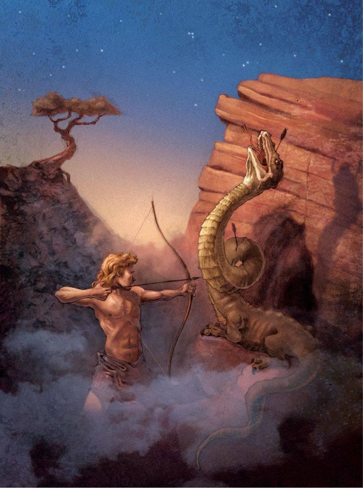 Драконы в греческой мифологии - dragons in greek mythology - xcv.wiki
