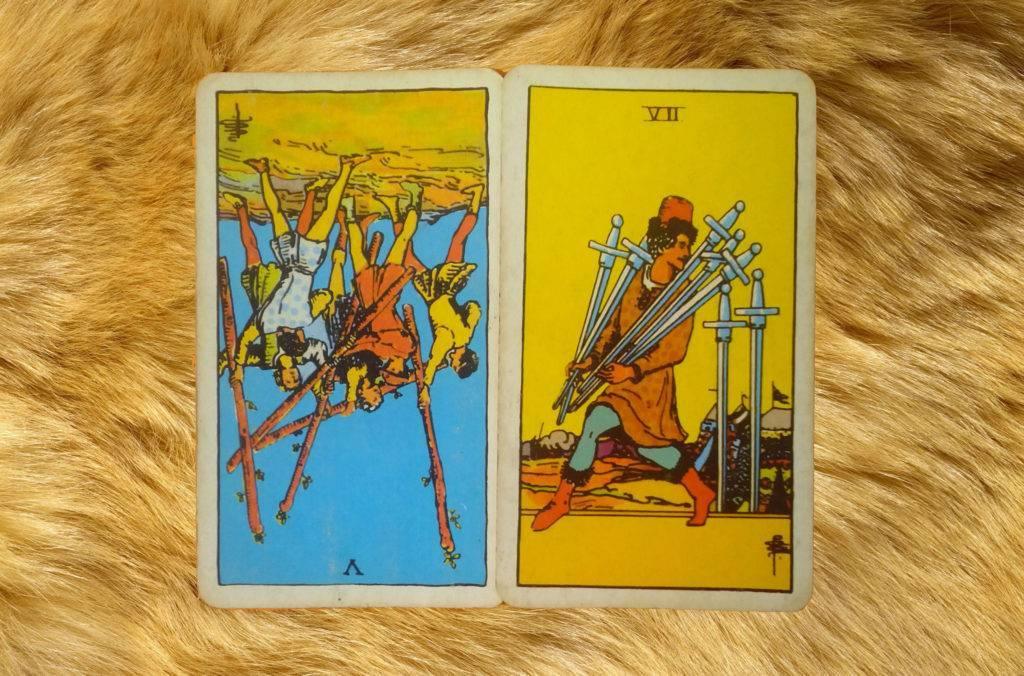 Младшие арканы мечи в таро уэйта: значение и толкование карт