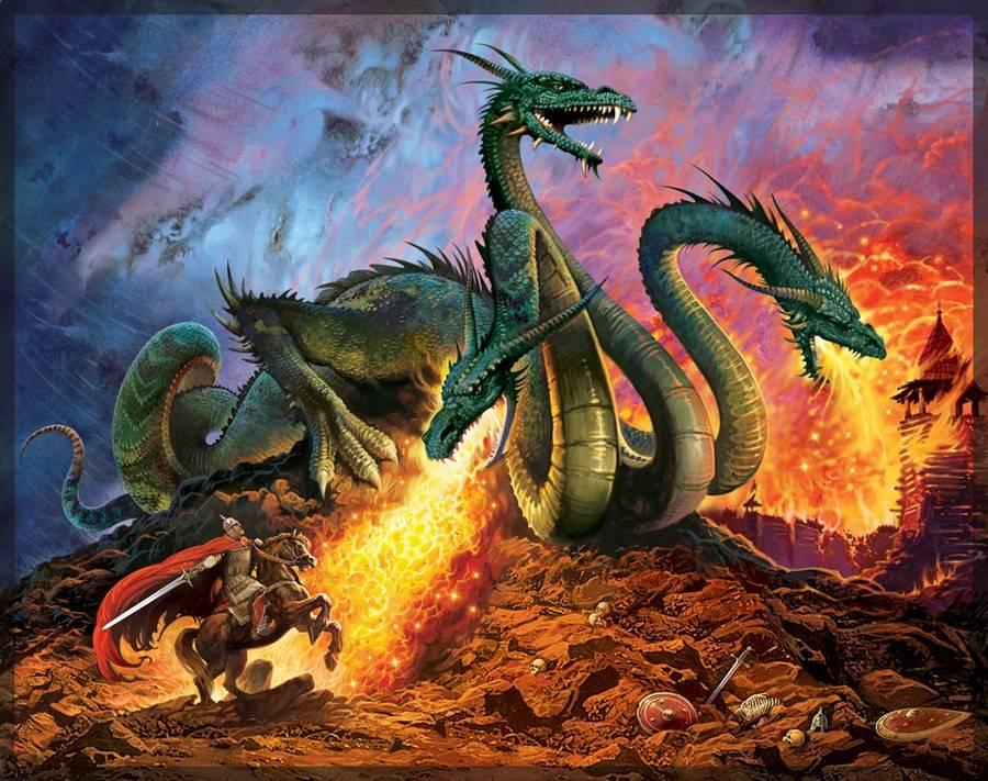 Чудо-юдо, змей горыныч, полоз и другие драконы русской земли