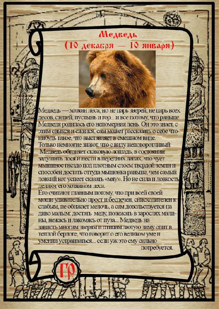 Чертог медведя. описание и значение.