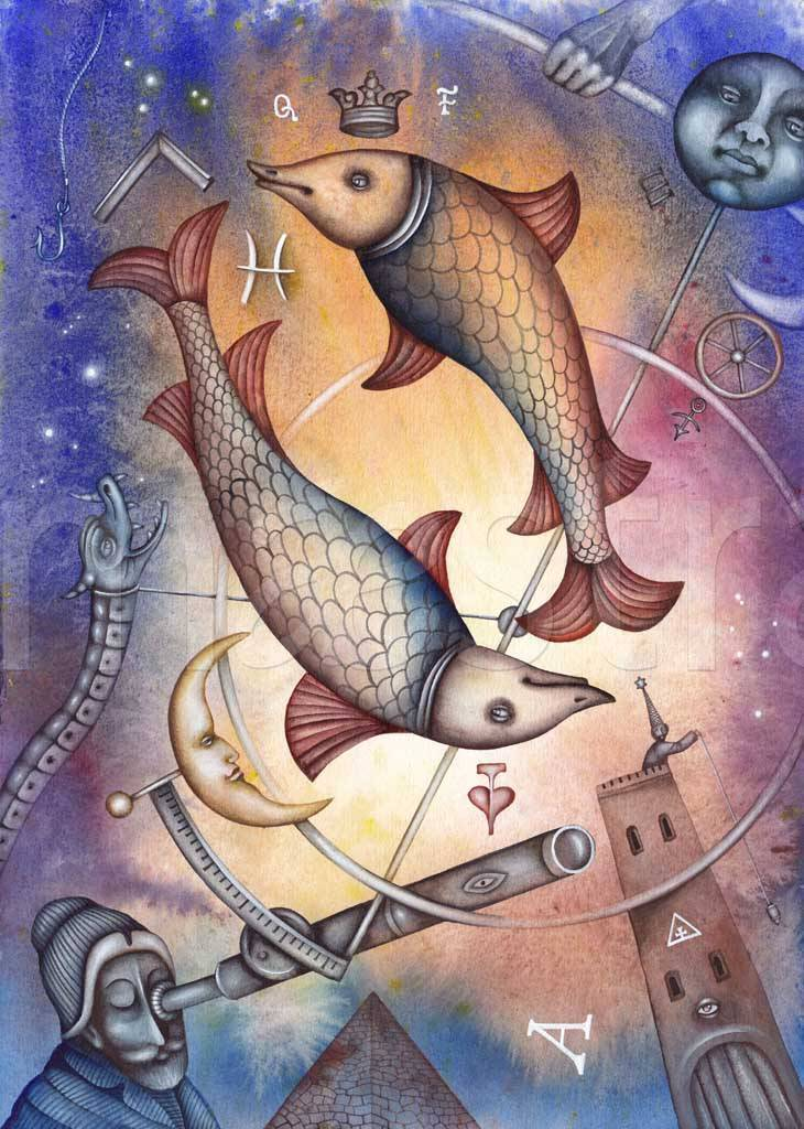 Мужчина и женщина знака рыбы: секреты поведения, характер и судьба