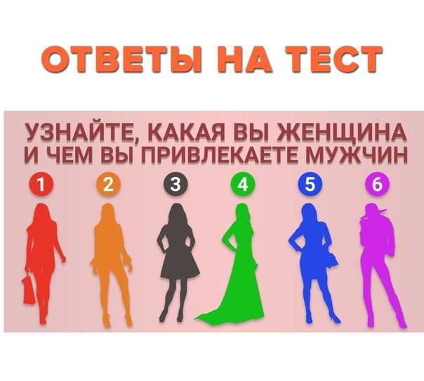 Женский тест – узнайте, чем вы привлекаете мужчин