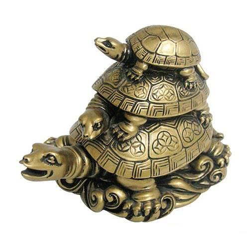 Талисман черепаха, значение оберега по фен шуй, амулет