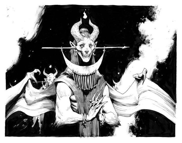 Богиня астарот. госпожа перекрестков
