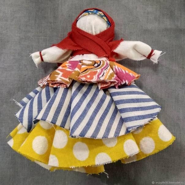 "Мастер класс по изготовлению куклы оберега ""волдайский колокольчик"""