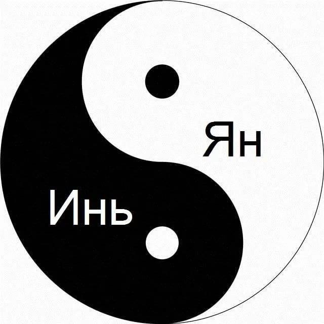 Инь - янь - значение символа - подробный разбор