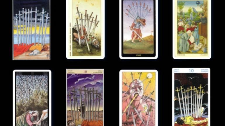 Деcятка мечей: значение и описание карты таро