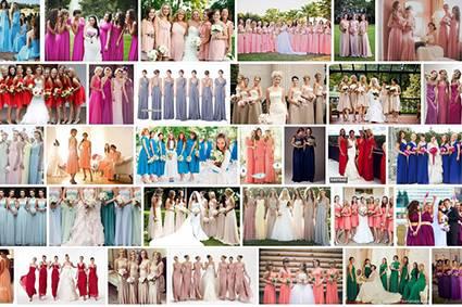 Платье для невесты красного (вишневого) цвета: символика, кому подойдет