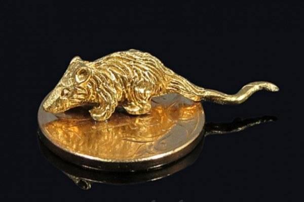 Кошельковая мышь для привлечения денег с ложкой загребушкой, серебряная, янтарная, золотая, заговоры, отзывы
