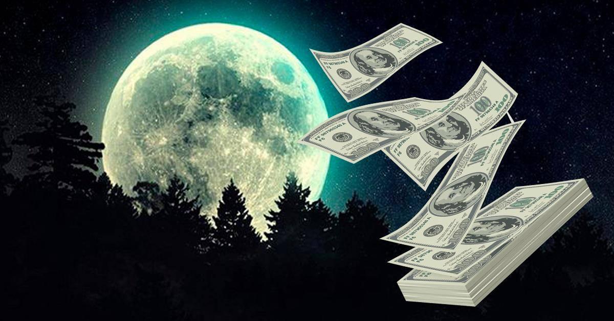 Как быстро разбогатеть с помощью заговора на деньги в новолуние