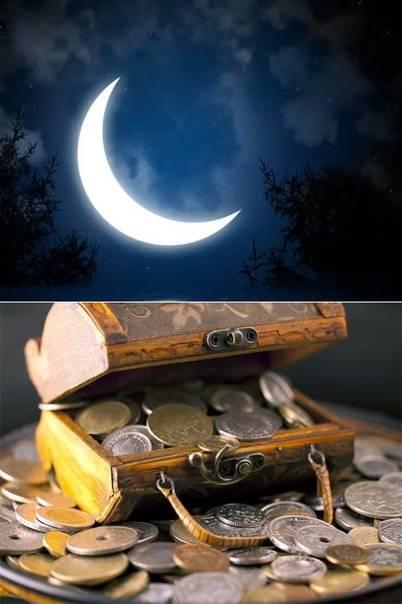 Ритуалы на растущую луну на деньги самостоятельно в домашних
