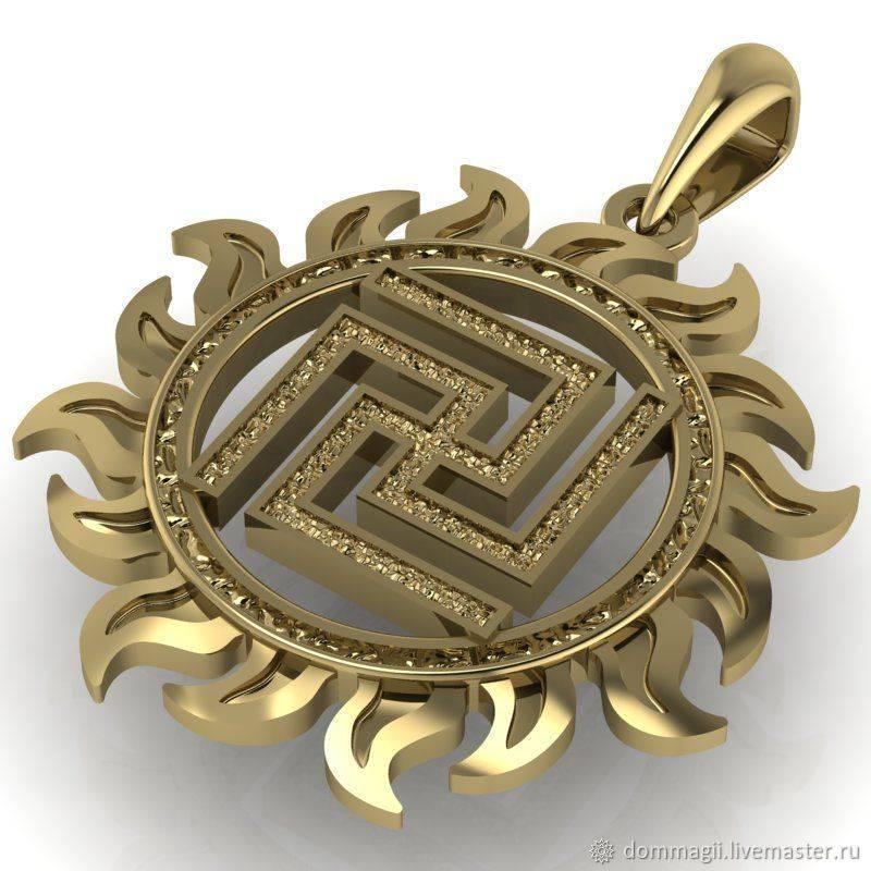 Символ валькирия — воинский оберег славян