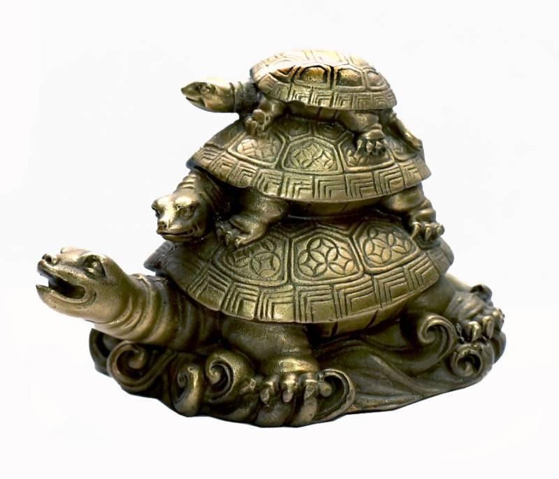 Черепаха, как символ в фэн-шуй