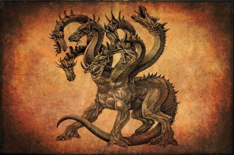 Змей горыныч - огнедышащий дракон в славянской мифологии