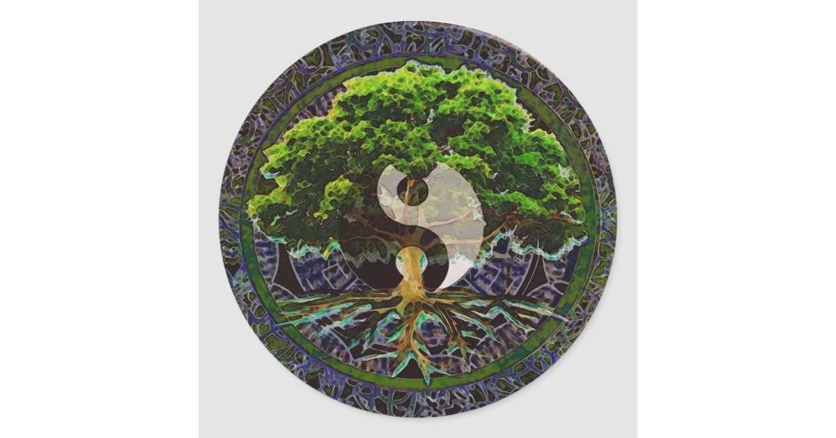 Мандала стихий — дерева, земли, воды, огня, воздуха