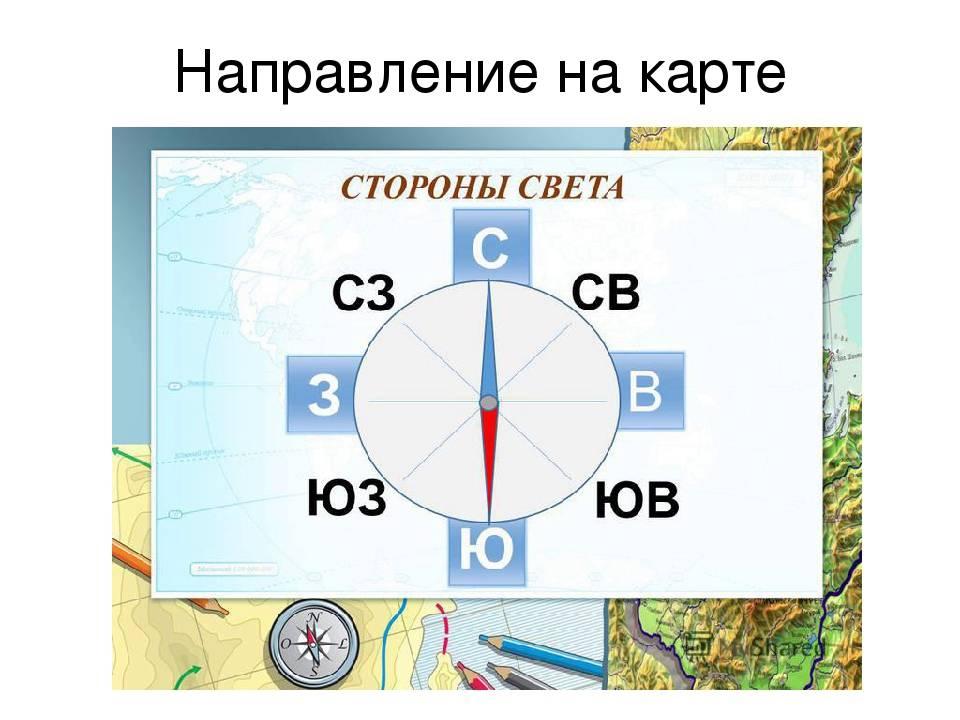 Карта с севером югом западом и востоком. как узнать расположение севера, юга, востока и запада карта с севером югом западом и востоком. как узнать расположение севера, юга, востока и запада