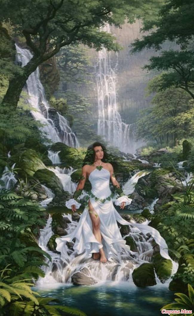 Наяды, в мифологии