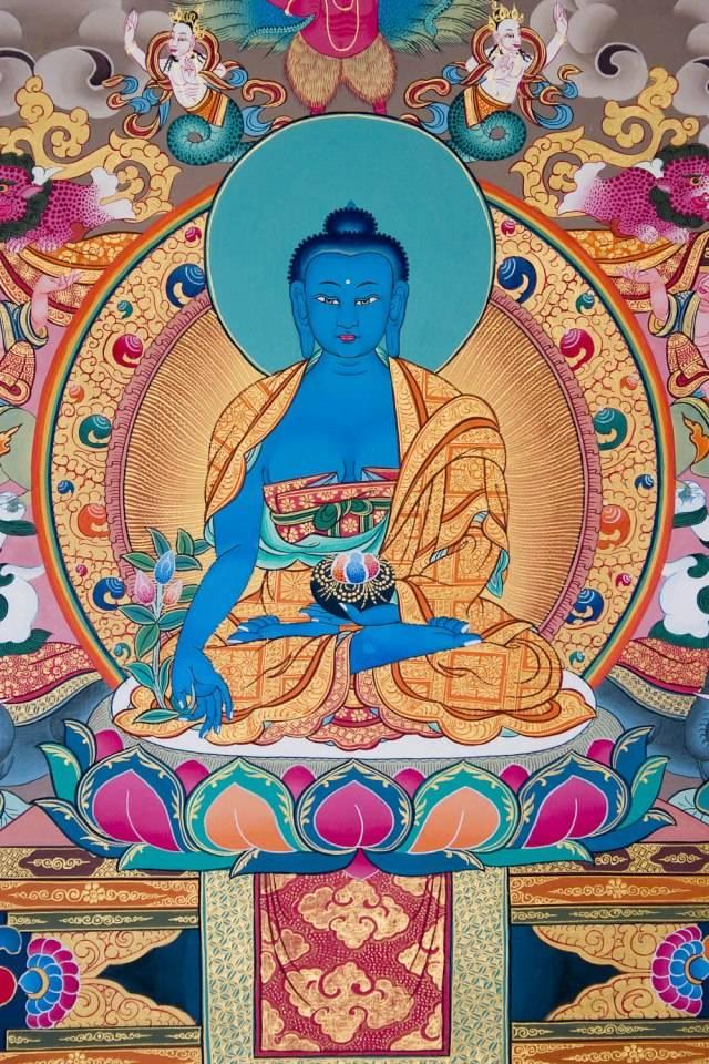 Читать книгу практика будды медицины. наставления в затворничестве ламы сопа ринпоче : онлайн чтение - страница 1