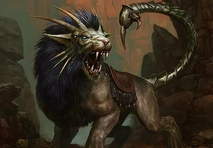 Мантикора мифы и легенды народов. мантикора — легендарное и непобедимое чудовище-людоед. толкование роли мантикоры в мифах