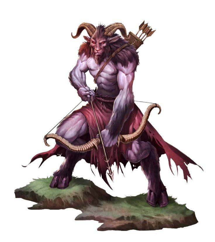 Сатиры - козлорогие божества греческих лесов
