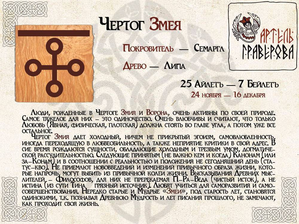 Славянский гороскоп по дате рождения: о чем можно узнать?