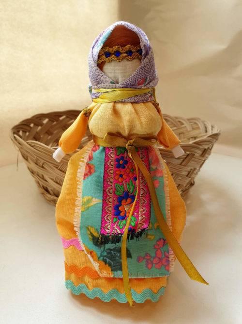 Обереговые куклы из ткани и ниток: выкройки и пошаговые инструкции