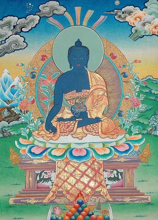 Будда медицины: мантры и медитация,  исцеления, практика