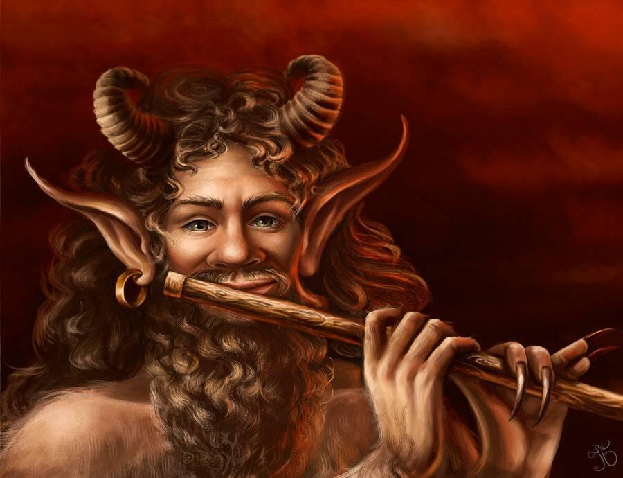 Сатиры в греческой мифологии - рогатые и козлоногие демоны