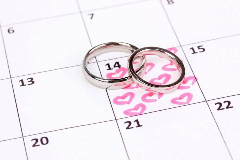 Благоприятные дни для свадьбы в 2019 по лунному и церковному календарям
