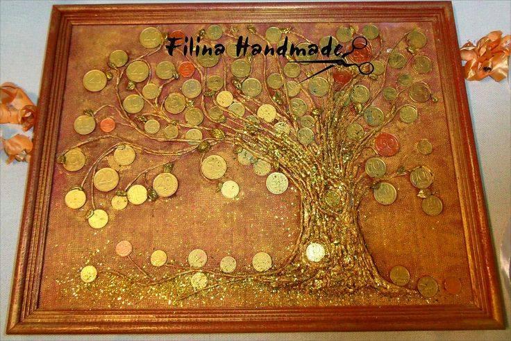 Денежное дерево из монет своими руками (26 фото): пошаговый мастер-класс по изготовлению дерева из пайеток и золотых монеток