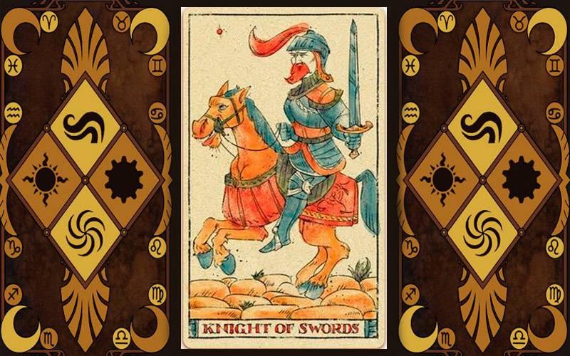 Значение рыцаря мечей в различных раскладах и сочетаниях с другими картами таро